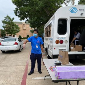 Boys & Girls Clubs Grab and Go Lunches