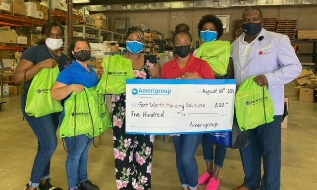 Amerigroup, FWHS Partner for Back-to-School Supplies Event
