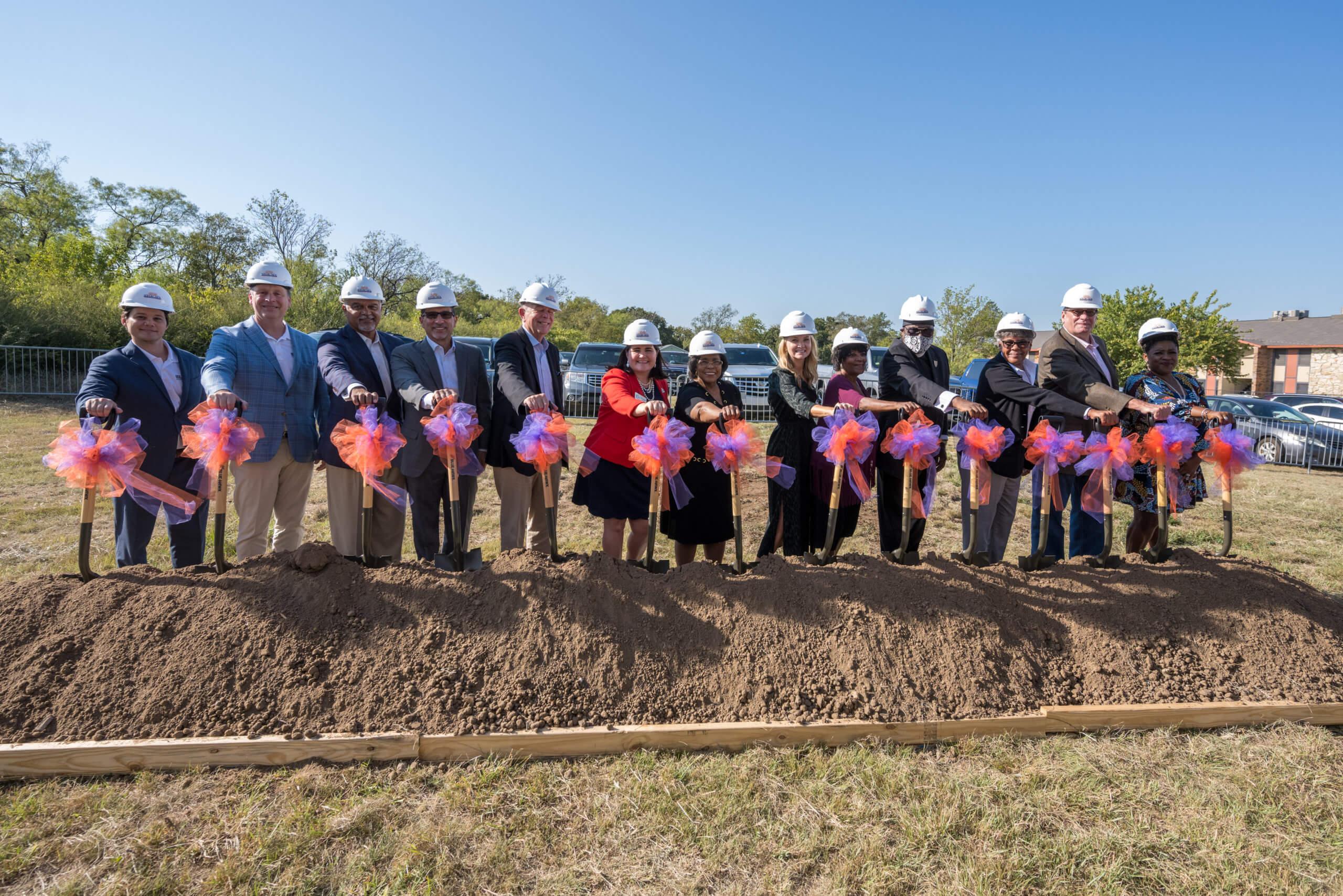 Stop Six Community, Fort Worth Leaders Kick Off Choice Neighborhood Construction